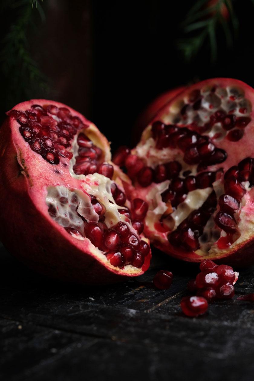 Marmeladenplätzchen mit selbstgerechtem Granatapfelgelee