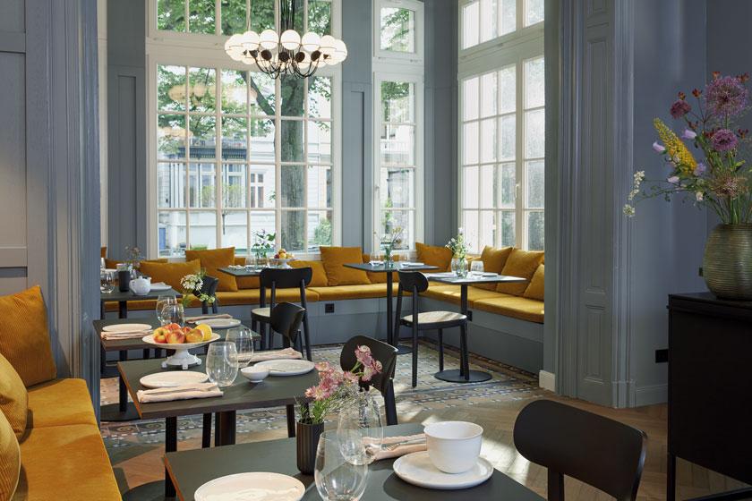 Pantone-Trendfarben 2021 im Stilwerk-Hotel Heimhude in Hamburg
