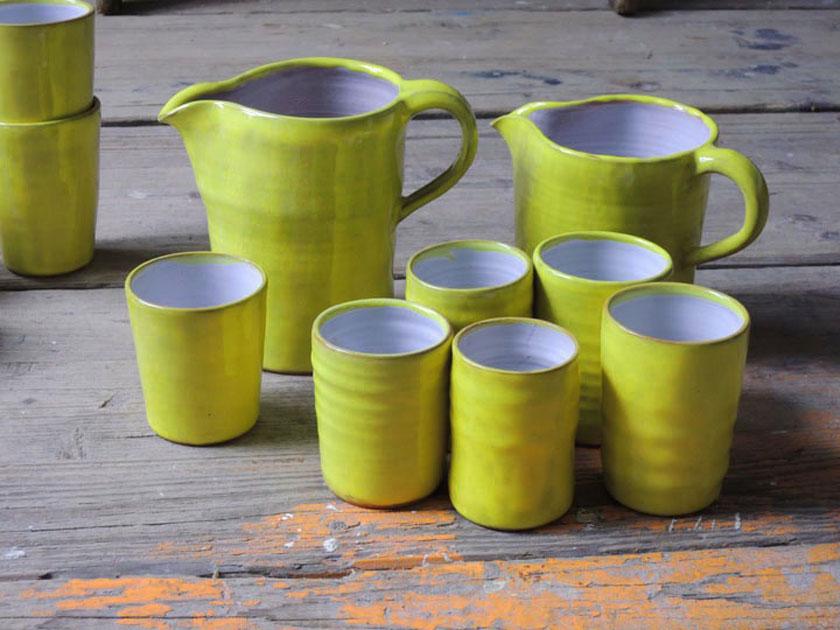 Pantone-Trendfarben2021- Keramik aus dem Atelier Quellental/Gundi Bindernagel