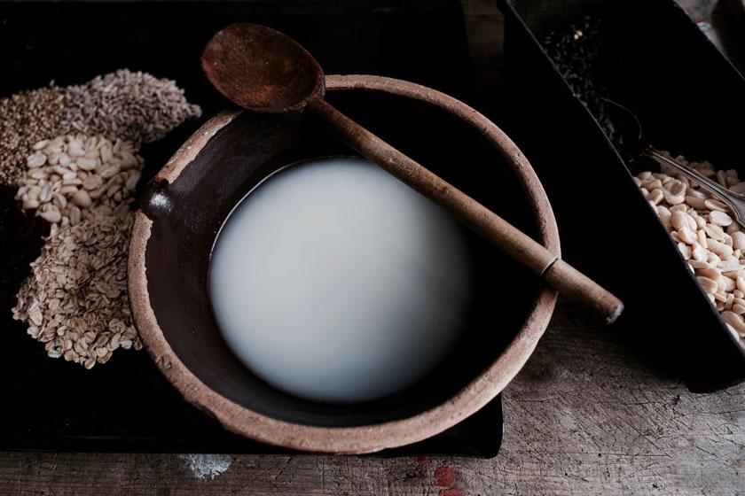 Vogelfutter selber machen: Nahrhafte Körnermischung in Kokosöl