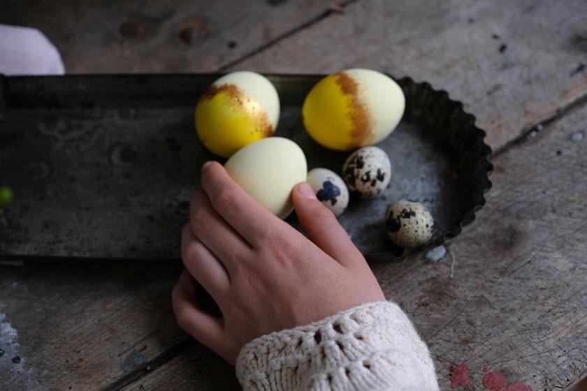 Rüblitorte mit kandierten Blüten und Zitronencreme