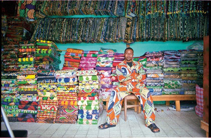 Waxprints - die bunten Stoffe Afrikas.