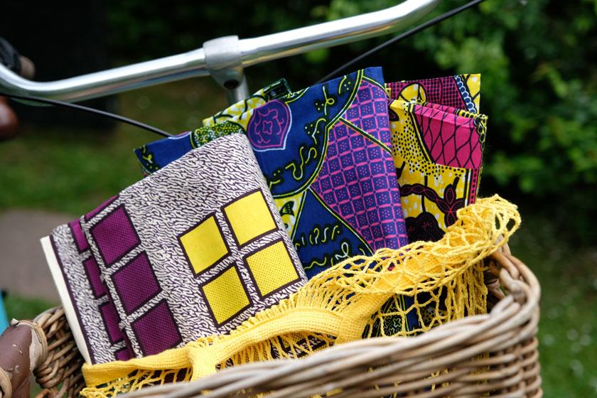 Waxprints – Stoffe in den Farben Afrikas. Ein DIY