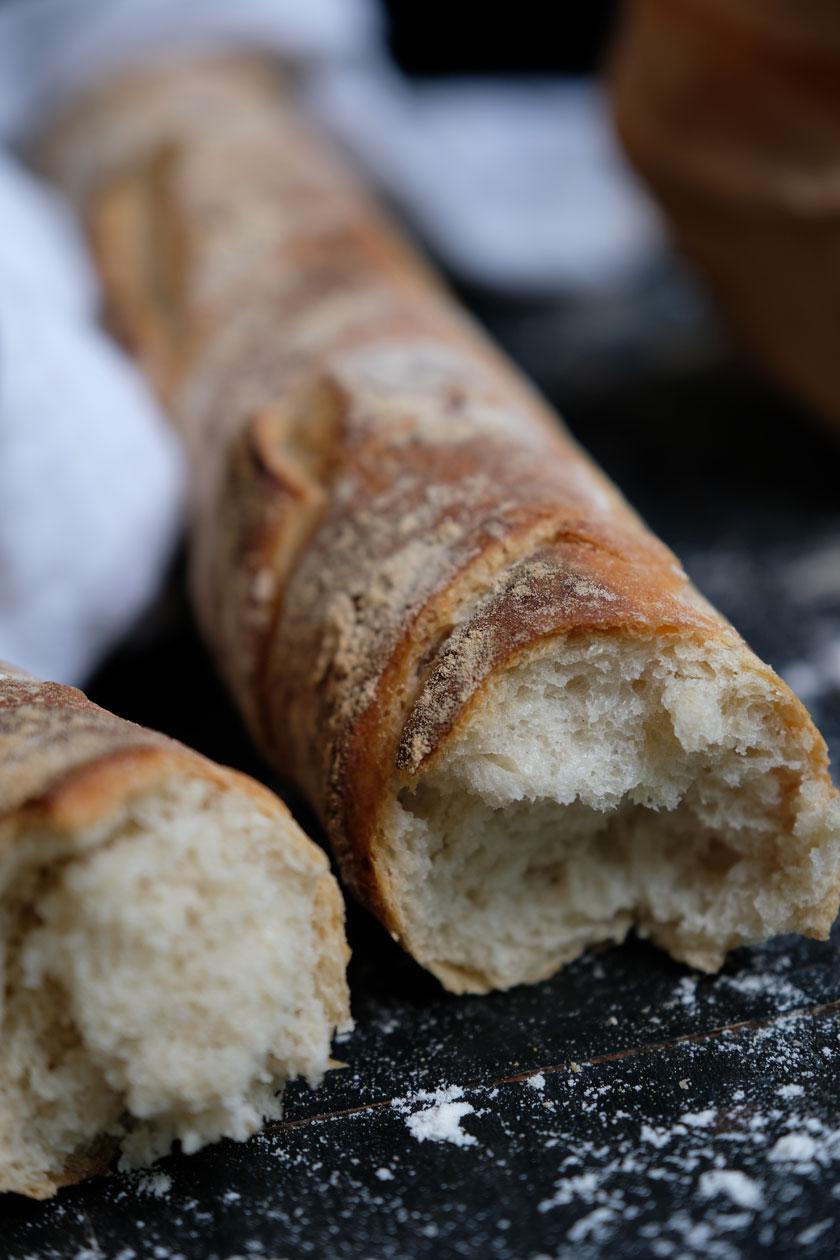 Ein einfaches Baguette-Rezept. So köstlich!